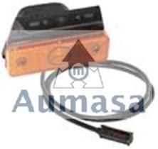 Aspock 312214037 - REFLEC.RED.ROJO D.80MM C/AGUJ.SUJEC